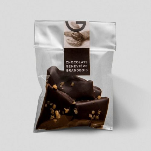 Caramel Croquand, Chocolats Geneviève Grandbois