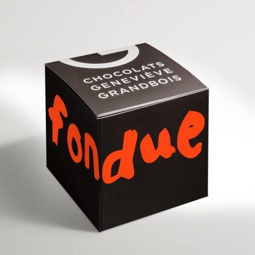Fondue au chocolat | Chocolats GG