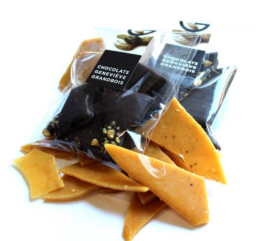 Caramel Croquant, Chocolats Geneviève Grandbois