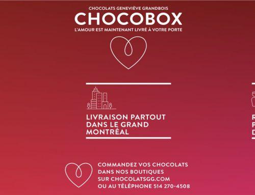 Une Saint-Valentin sans stress avec le service Chocobox!