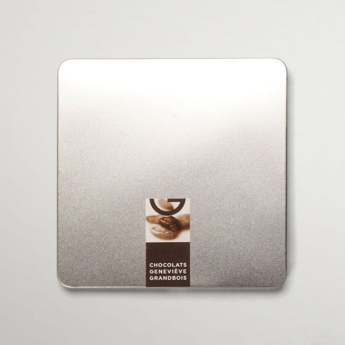 Boîte métallique de 36 chocolats