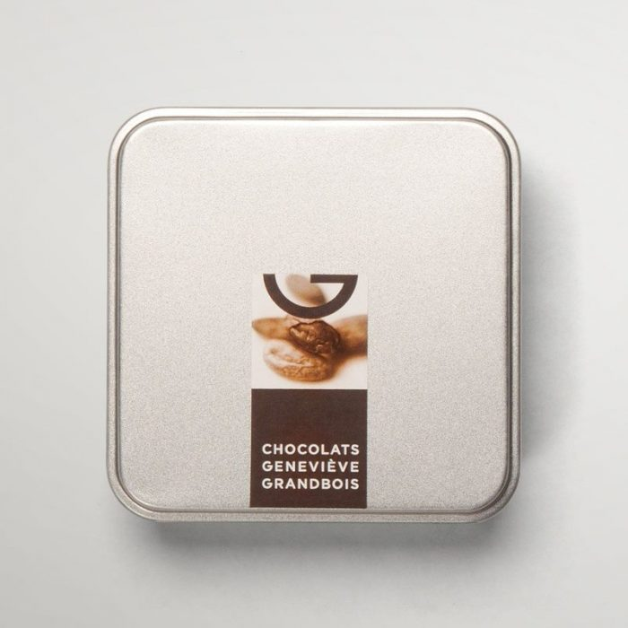 Boîte métallique de 9 chocolats