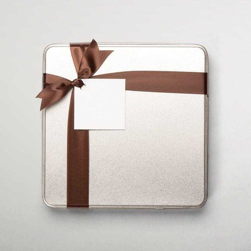 Metal box - 36 chocolates