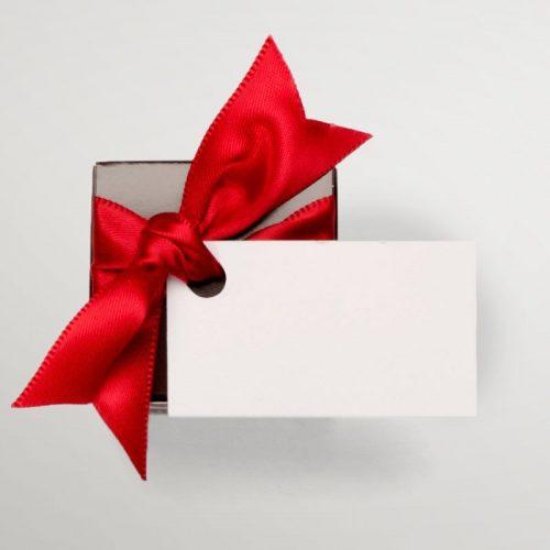 Boîte mini cube 2 chocolats | Chocolats Geneviève Grandbois