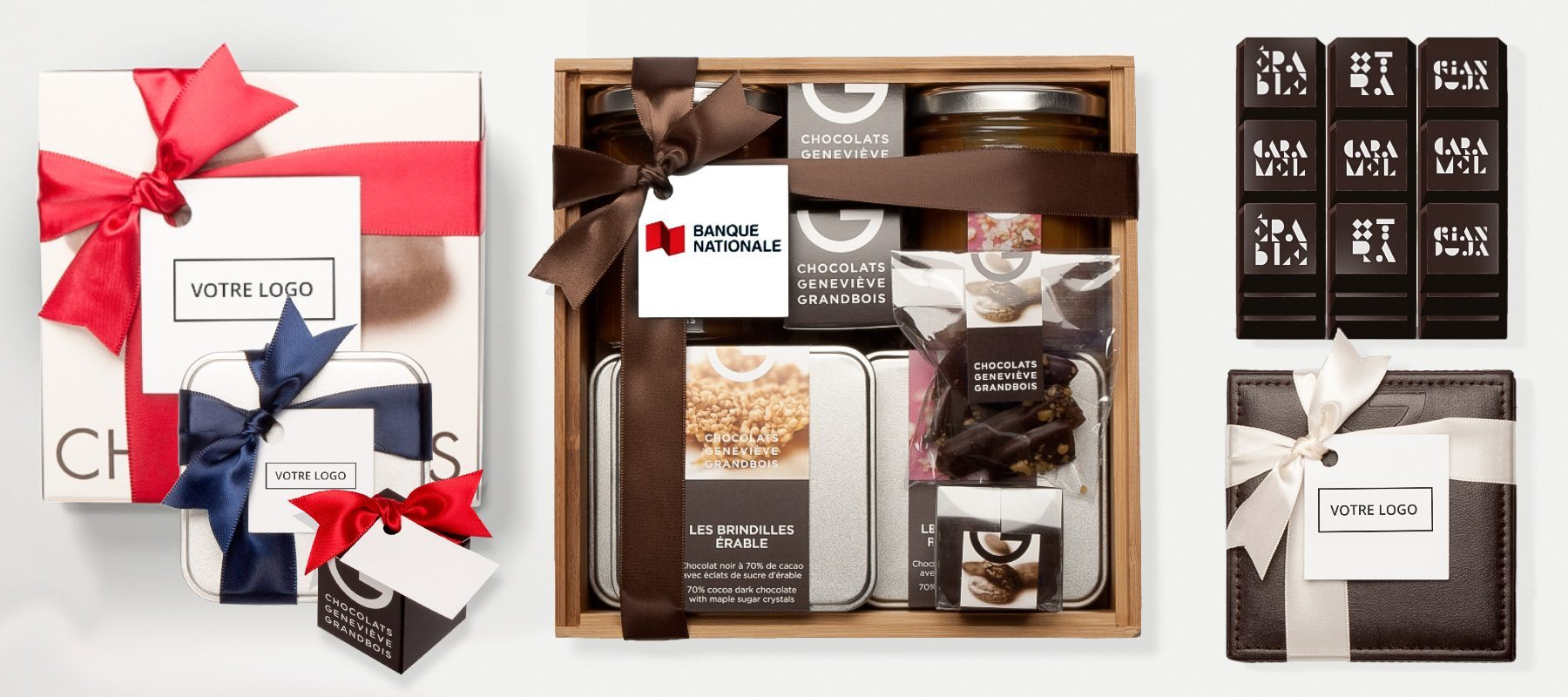 Corporate Gifts | Chocolats Geneviève Grandbois