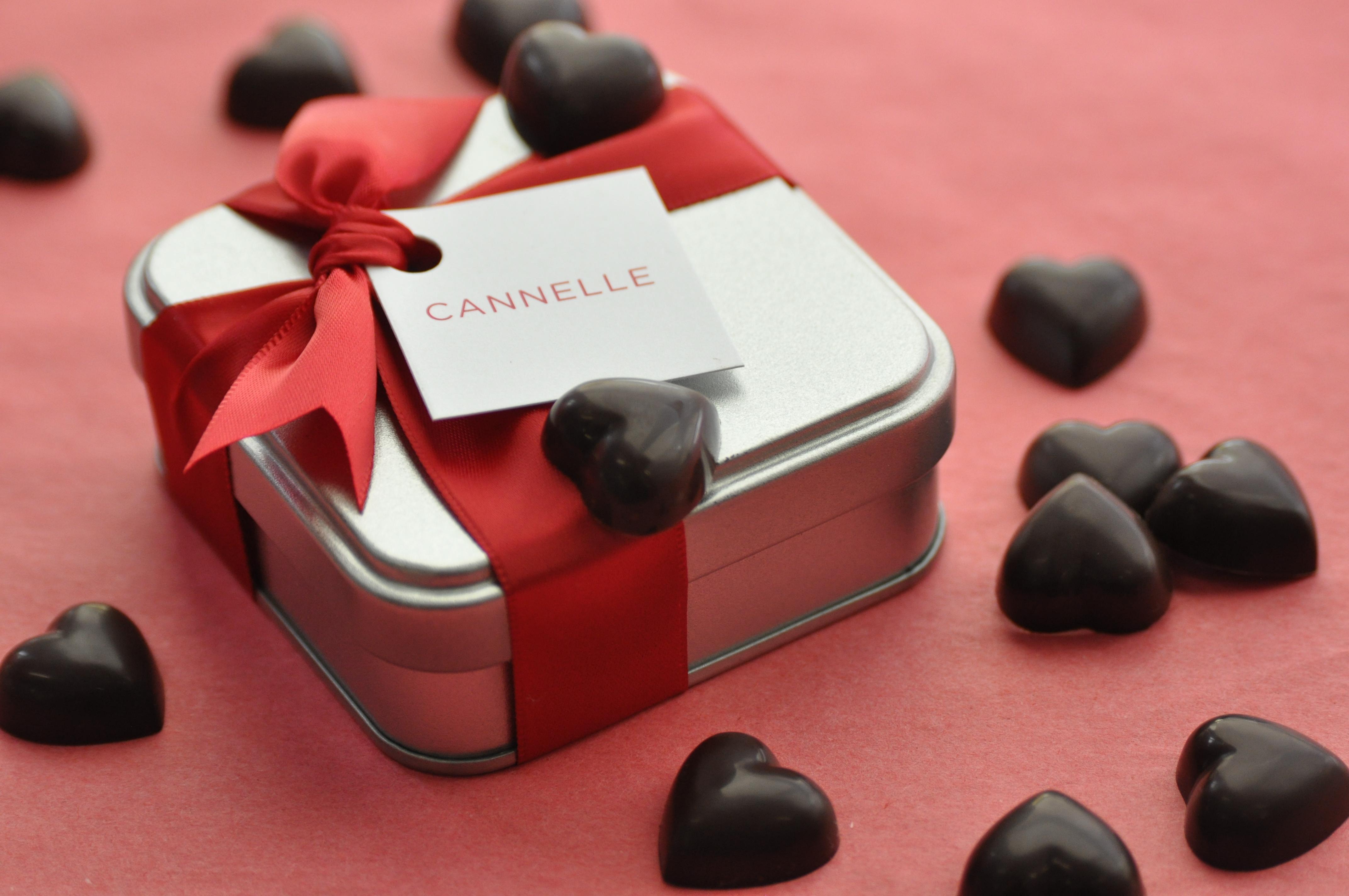 Cœur en Chocolat | Saint-Valentin | Chocolats Geneviève Grandbois