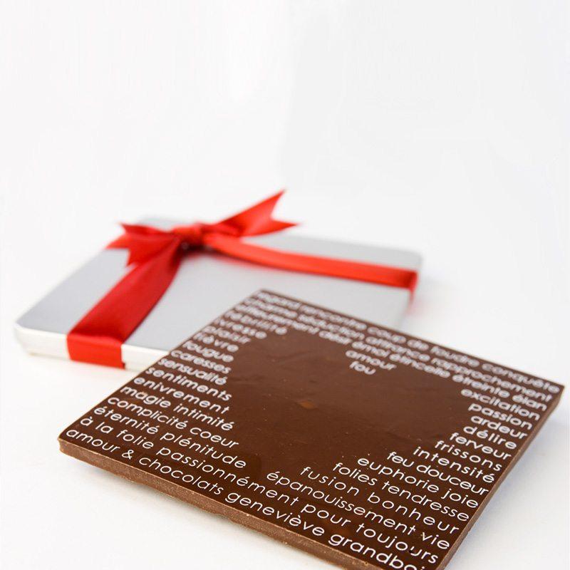 Carré des amoureux | Chocolats Geneviève Grandbois