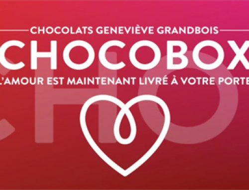 Nous sommes fiers de vous présenter le service Chocobox!
